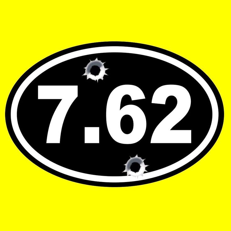 "New ""7.62"" 2nd Amendment WINDOW DECAL sticker gun rights Molon Labe NRA patriot"