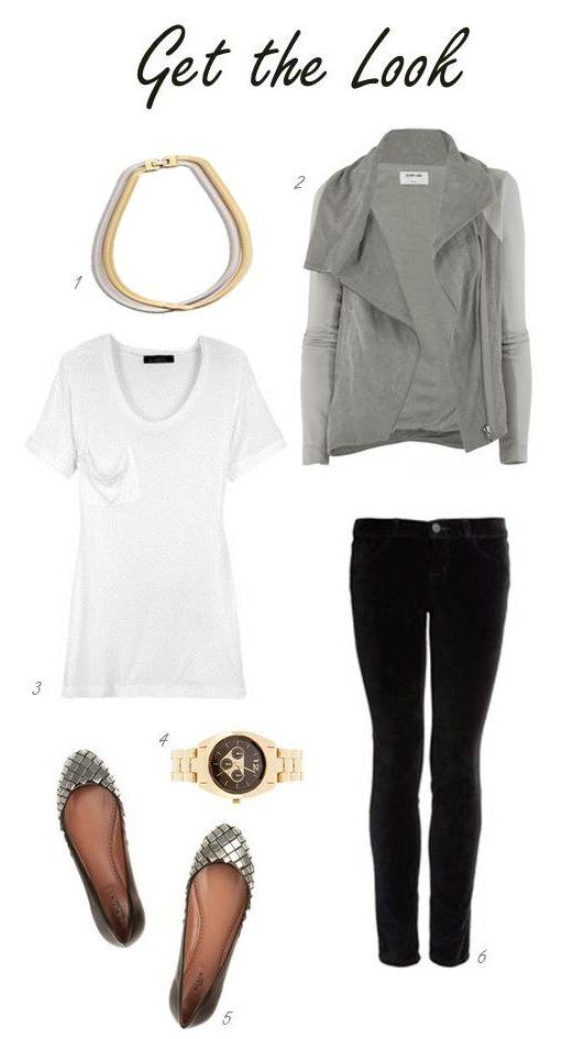 .Great casual outfit for fall or spring