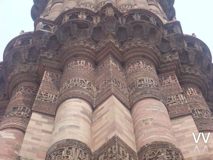 Qutab Minar(Delhi), is the tallest minar in India, originally an ancient Islamic Monument.  The tower has 379 stairs & 72.5 meters high, and has a base diameter of 14.3 meters, which narrows to 2.7 meters at the top storey.It is made of red sandstone and marble covered with intricate carvings and verses from the Quran.