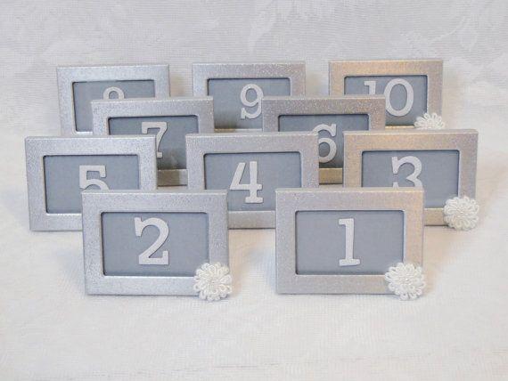 163 best Wedding Table Numbers images on Pinterest | Weddings ...