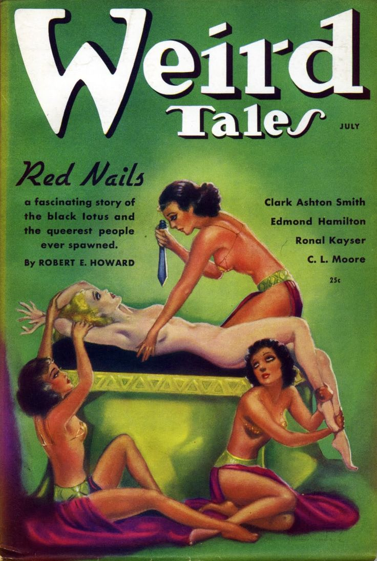 Weird Tales, July 1936: Red Nails (conan)