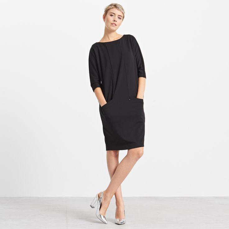 Sukienka oversize z kieszeniami, RESERVED