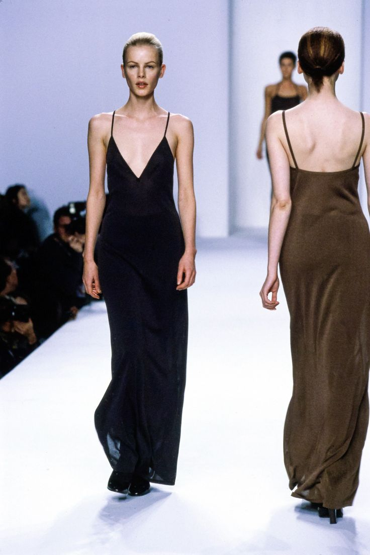 Calvin Klein Collection Fall 1996 Ready-to-Wear Fashion Show - Emma Balfour