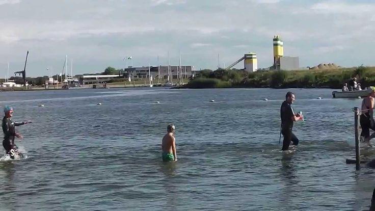 Ook dit jaar weer een Haringvlietoversteek. Helaas al vol maar toeschouwers altijd leuk of volgend jaar meezwemmen