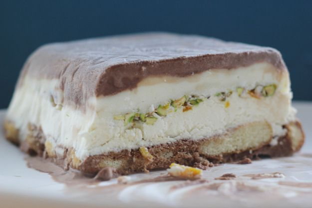 Cassata (traditional Argentinian ice cream cake) | 31 Truly Beautiful Ice Cream Cakes