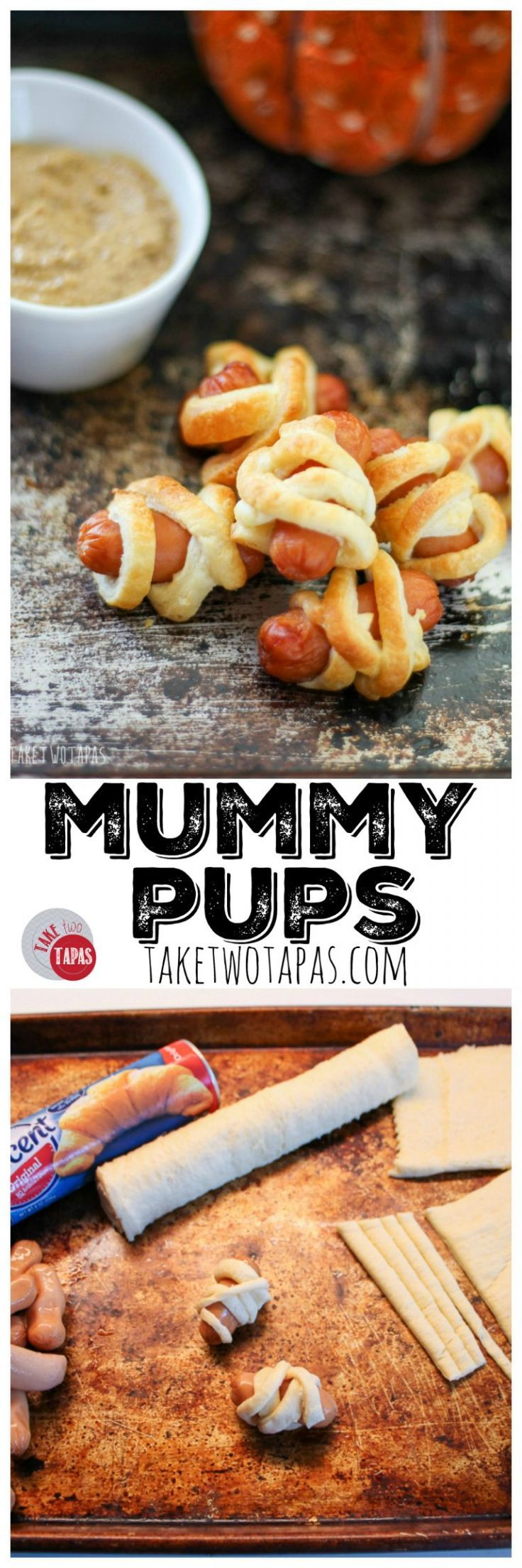 the perfect halloween appetizer mummydogs mummypups - Great Halloween Appetizers