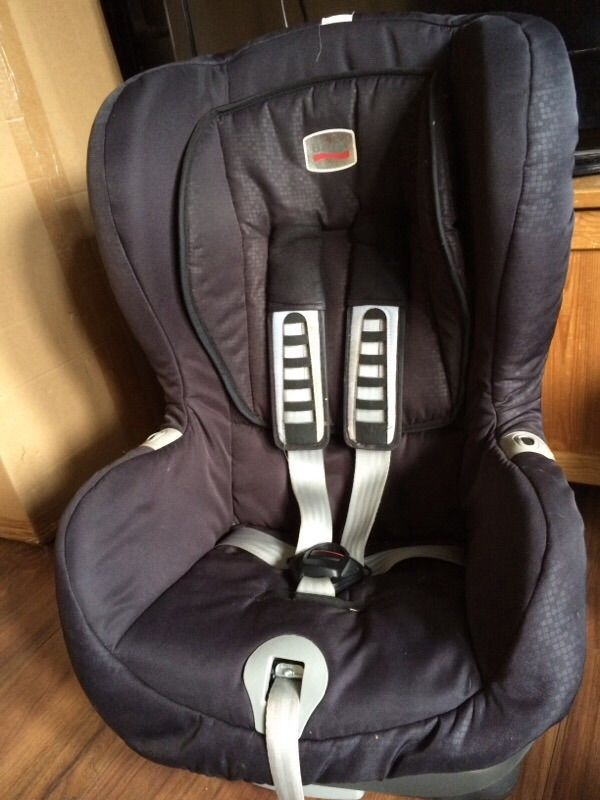 Britax Duo Plus stage 1 car seat isofix OR belt fitting