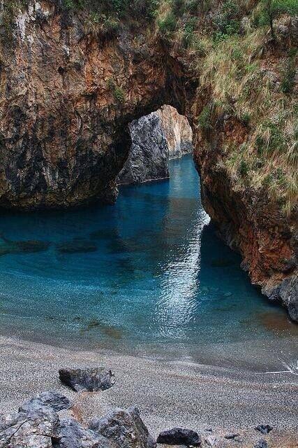 Sea Portal, Calabria, Italy