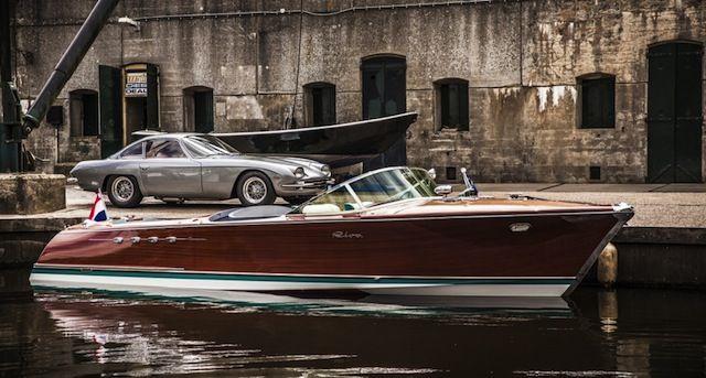 Le Riva Aquarama de Ferruccio propulsé par deux moteurs V12 de 4000cc de la 350 GT, est l'Aquarama le plus puissant du monde. Il vient…