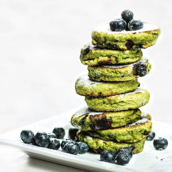 Delicious blueberry, matcha welsh cakes are just in time for Saint David's Day!