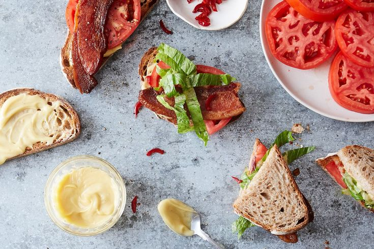 What's the Best BLT, Really?  on Food52  This is probably the best BLT Ever, but I would cook the bacon on a wire 'cooling' rack (that can go to 575°F) with no coatings. That would be perfect.