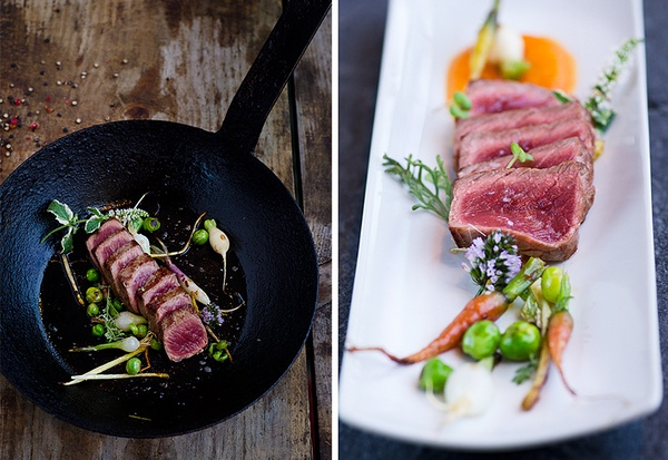 fine dining food by Jocelyn Jiang, via Behance