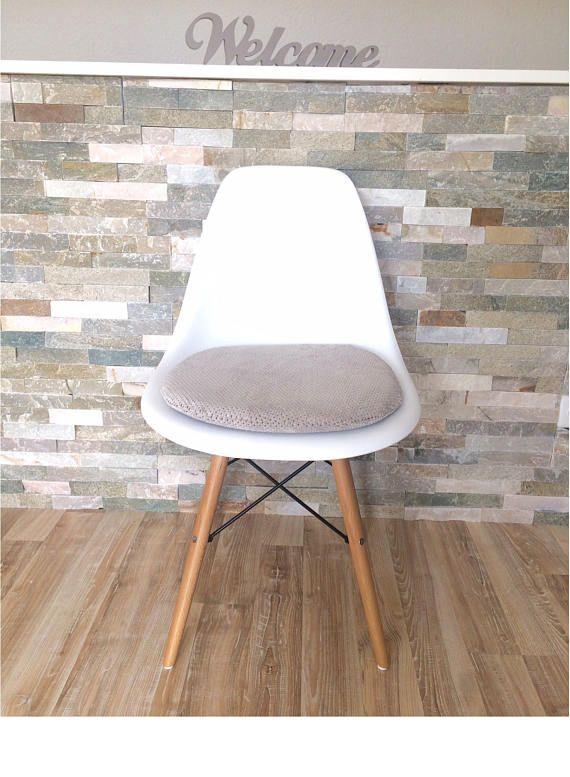 seat cushion for eames chair with zipper handmade sitzkissen eames dsw daw pinterest. Black Bedroom Furniture Sets. Home Design Ideas