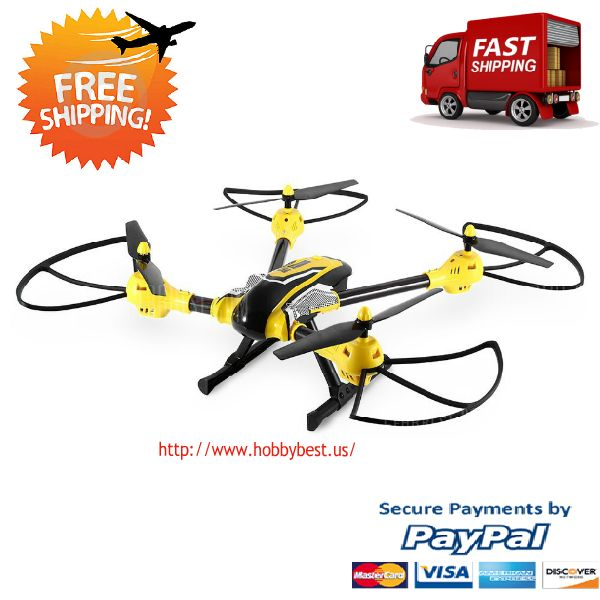 Uav Drone High Hold RC Quadcopter Easy Fly For Beginers  This Uav Drone High Hold RC Quadcopter is a really Sky Warrior. Is actually one of the best large (55.7 x 53.8 x 17.5 cm) drones for your sports camera in 2017.  Today we find out why eve...