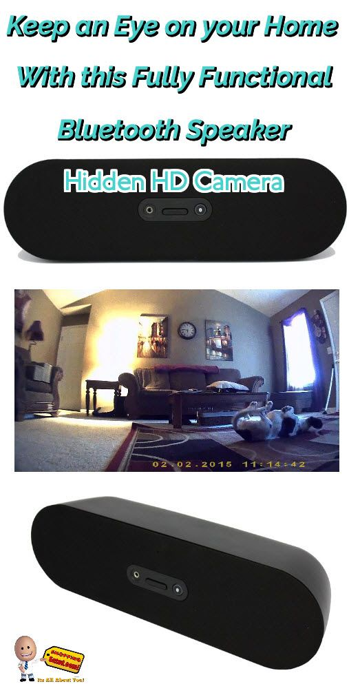 Monitor your office or home with this Secret Spy Camera disguised as a fully functional bluetooth speaker. This motion activated hidden camera is a must if you suspect someone is breaking into your home or office when your not there or if you suspect that your mate is not being completely honest with you. This nanny spy cam records in HD. Click the following link now to watch video and get more details: http://www.shoppingsated.com/store/p32/Secret_Spy_Camera.html surveillance pinhole camera