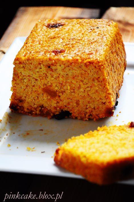 bezglutenowe ciasto z dyni i kaszy jaglanej, ciasto bez jajek bez mleka bez glutenu, gluten free millet pumpkin cake