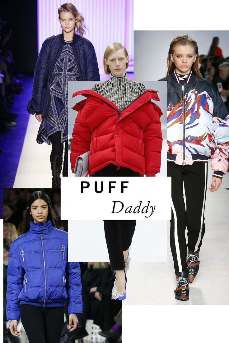 "The puffer jacket may not, at first thought, be a ""directional piece,"" but there's no doubt as to Fall's reigning outerwear. Whether you shop Demna Gvasalia's take, or one of this season's countless others, this is fashion at its most gloriously functional. 