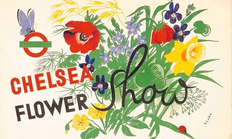 The first Chelsea Flower Show in May 1913 'exceeded all expectations'. Photograph: © TFL from the London Transport Museum Collection