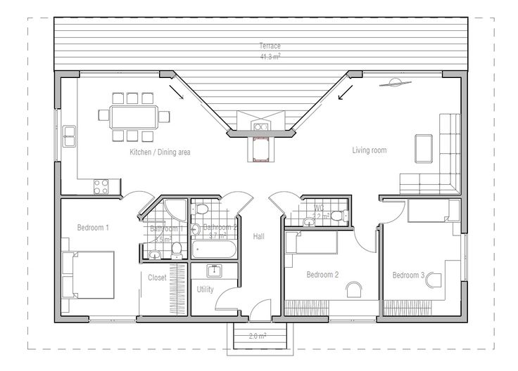 117 best Quik Houses Plans images on Pinterest