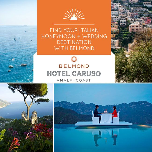 Marry or Honeymoon Along the Amalfi Coast at The Belmond Hotel Caruso