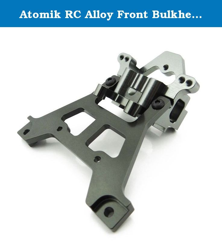Atomik RC Alloy Front Bulkhead for 1:10 Traxxas Jato - Grey - Replaces Part TRA5530. Atomik Alloy Front Bulkhead for 1:10 Traxxas Jato - Grey. Replaces Traxxas Part No. 5530. Fits the Traxxas Jato 3.3. Precision CNC machined. Brought to you by Atomik RC your one stop online RC Shop.