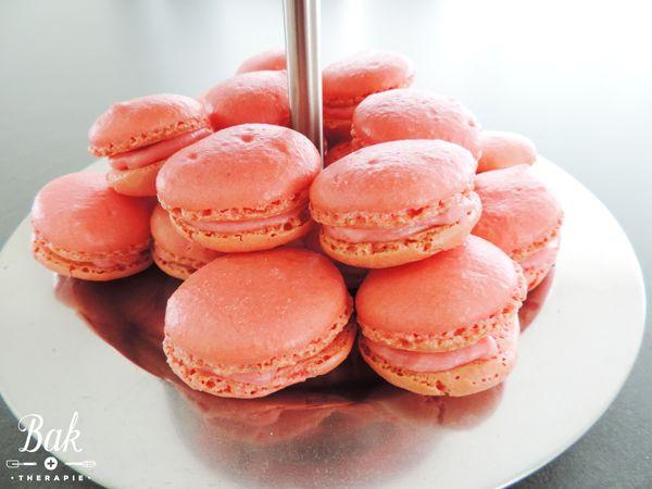 Raspberry macarons recipe - Baktherapie.nl