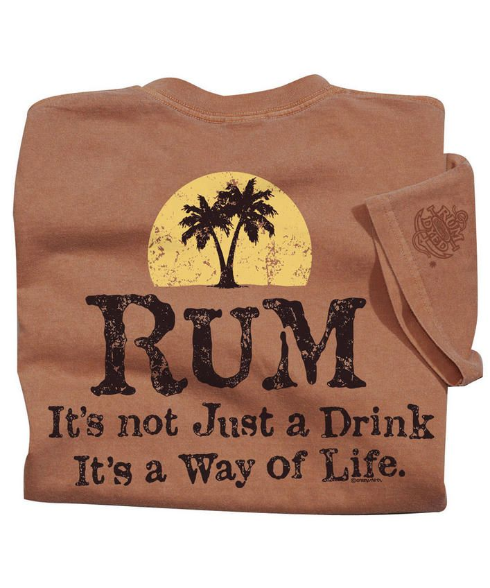 Way Of Life - Rum-Dyed Crew Neck T-Shirt