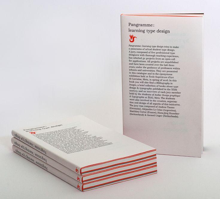 Pangramme : learning type design on Behance