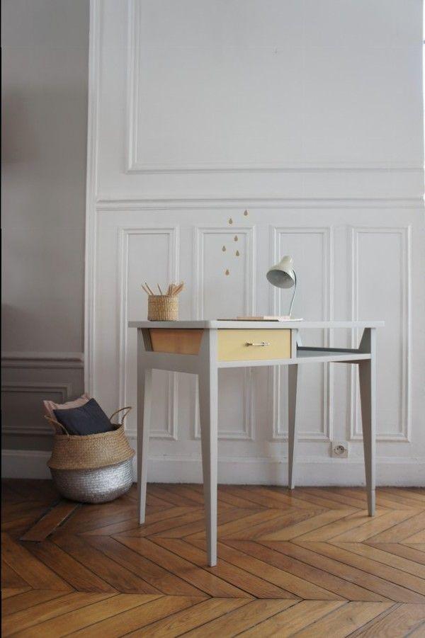 1000 ideas about bureau vintage on pinterest furniture vintage bureaus and desks. Black Bedroom Furniture Sets. Home Design Ideas
