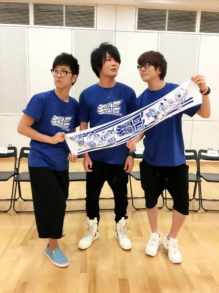 sakurai, hosoyan, nacchan ... Posted by Natsuki Hanae (@ hanae0626)   Twitter (Jul 31, 2016)