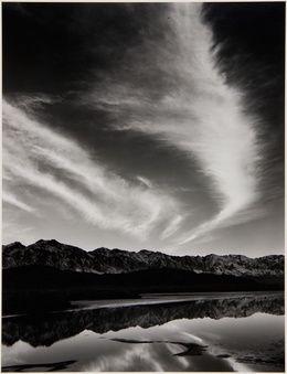 Ansel Adams, 'Sierra Nevada, Winter Evening, from the Owens Valley, California,' 1962, Jackson Fine Art