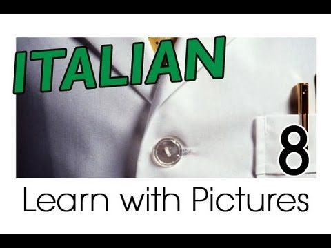 Learn Italian - Italian Clothing Vocabulary Perfect for shopping in Italy!