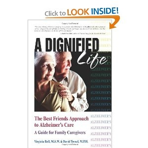 A Good Friend gave me this book while I was caring for a family member diagnosed with Alzheimer's Disease.  I read it over and over.  It taps into the intuitive nature of all Caregivers.