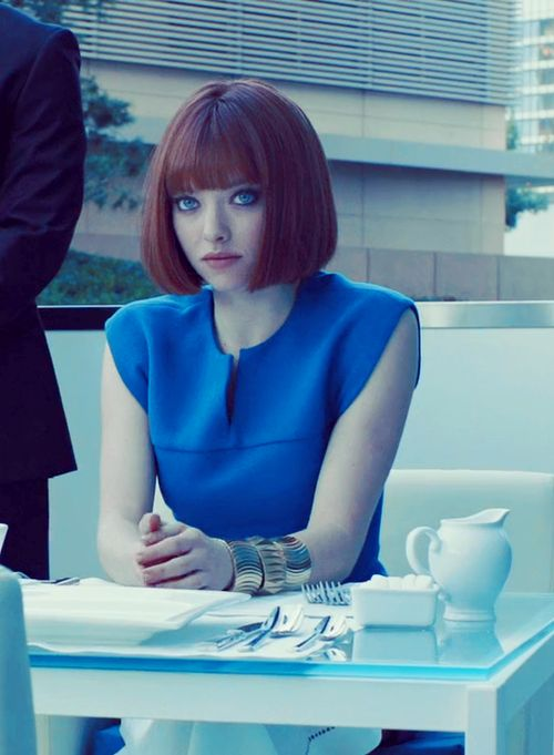 I can't tell how much I loved Amanda Seyfried's look in 'In Time'
