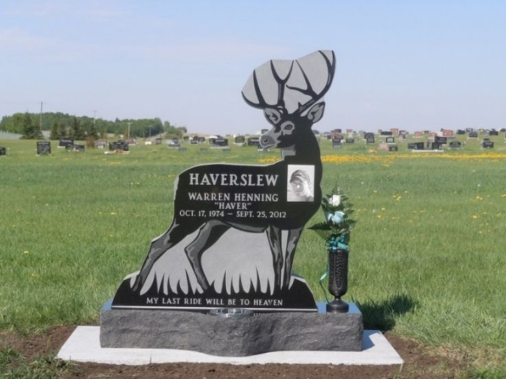 Custom Cemetery Headstone
