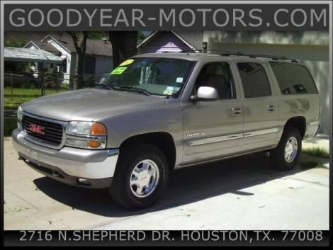Used GMC Yukon XL '02 For Sale in TX — $8875
