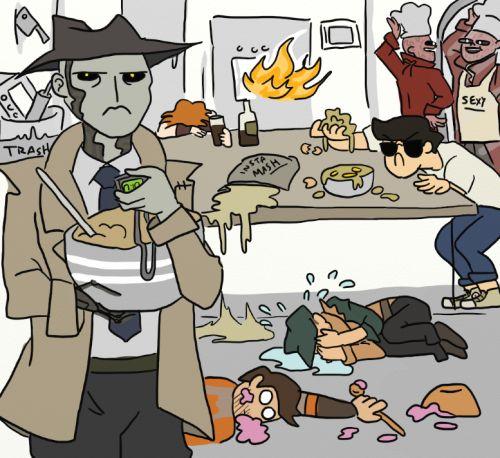 Nick Valentine's Kitchen Nightmares