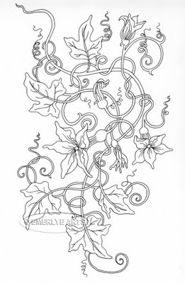 Pumpkin vine/ivy - what I want for my next tattoo