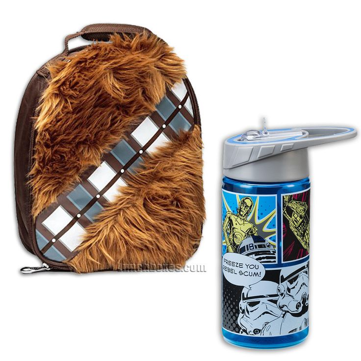 Star Wars - Chewbacca - Lunch Box with Bottle