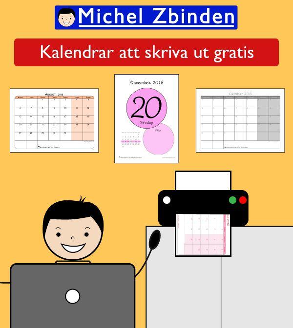 gratis kalender för hemsida