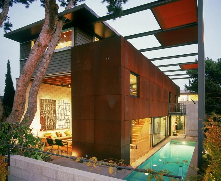 Steven ehrlich houses - Limposante residence contemporaine de ehrlich architects ...