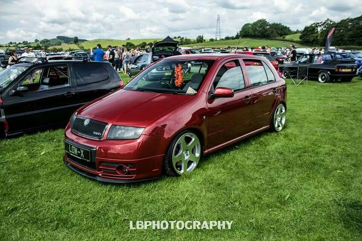 Fabia on Rotiform wheels