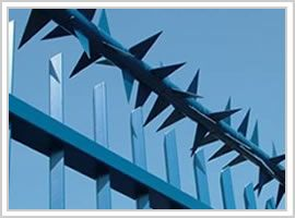 SeSecurity Fence Spikes|Berming Security Fencing Co.-Anti Climb Spikes,Barbed Wire,Razor Wire,Concertina Coils,Ornamental Fenc,PVC Coated Perimeter Security Fencing,Chain Link Fence,Double Weft Wire Security Fence