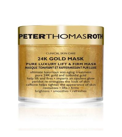 Tighten and Firm Your Jawline With These Top 10 Products. Peter Thomas Roth 24K Gold Mask. #skin #beauty