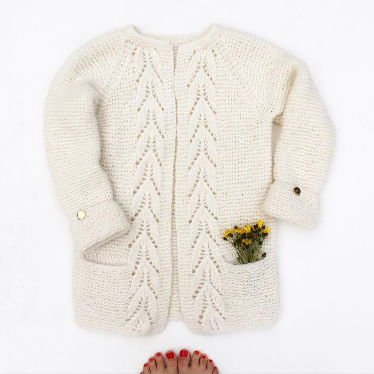 Mammas versjon av #bladrillejakke | Knits and pieces