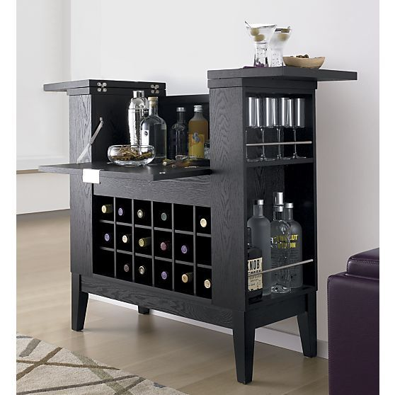 Parker Spirits Cabinet in Top Furniture | Crate and Barrel