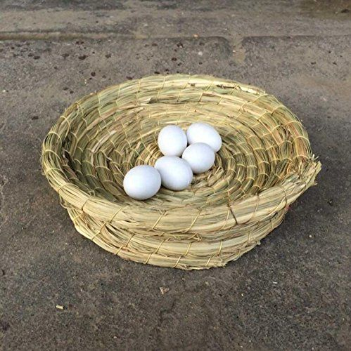 Handmade Straw Natural Bird Nest Pigeon Bird House Parrot Nest Cages & Accessories Free shipping One Size...