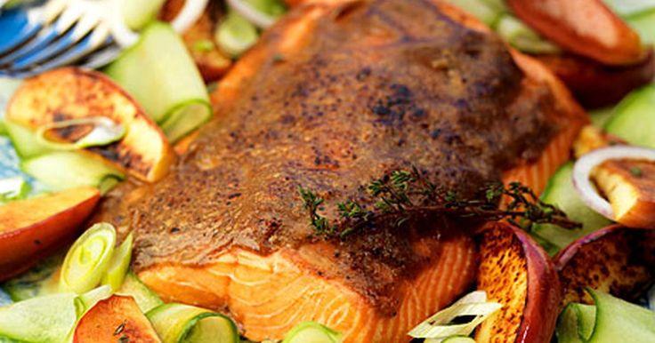 En jullax med panering lik julskinkans. Ett alternativ till julskinkan kanske? Receptet kommer från Mannerströms julkokbok.