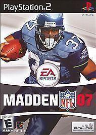 Madden NFL 07  (Sony PlayStation 2, 2006) #Madden