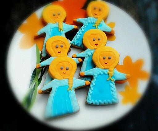 Cookies elsa frozen
